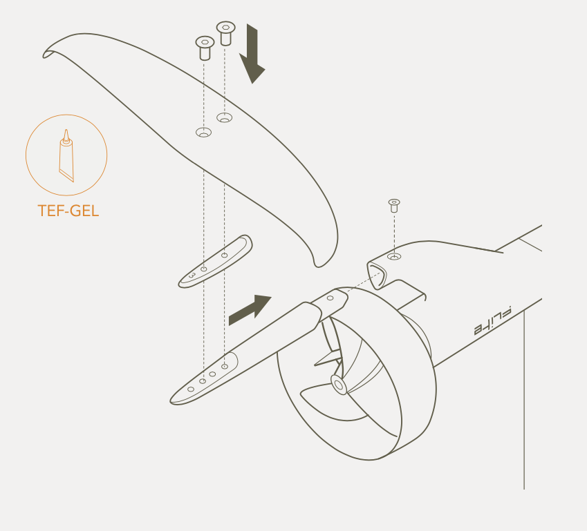 How to assemble Fliteboard
