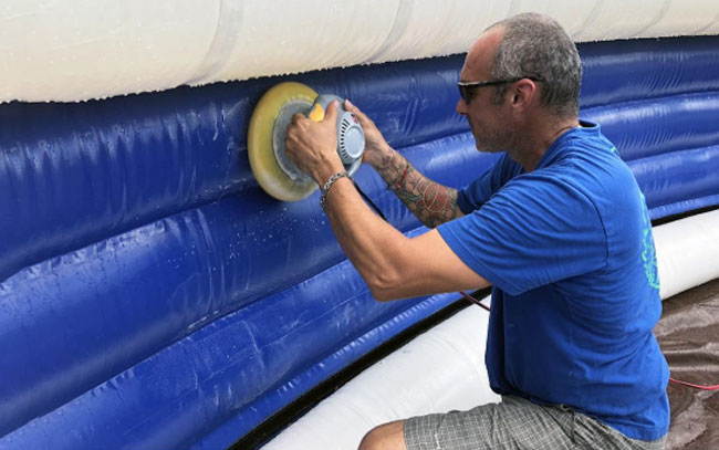 Yacht Slide Cleaning